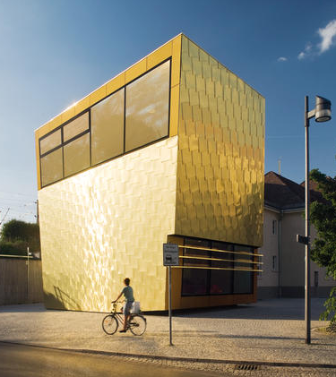 gold building